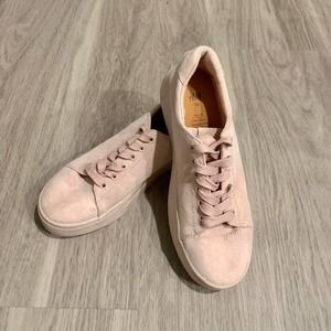 Women's Pink H&M Sneakers Size 7.5